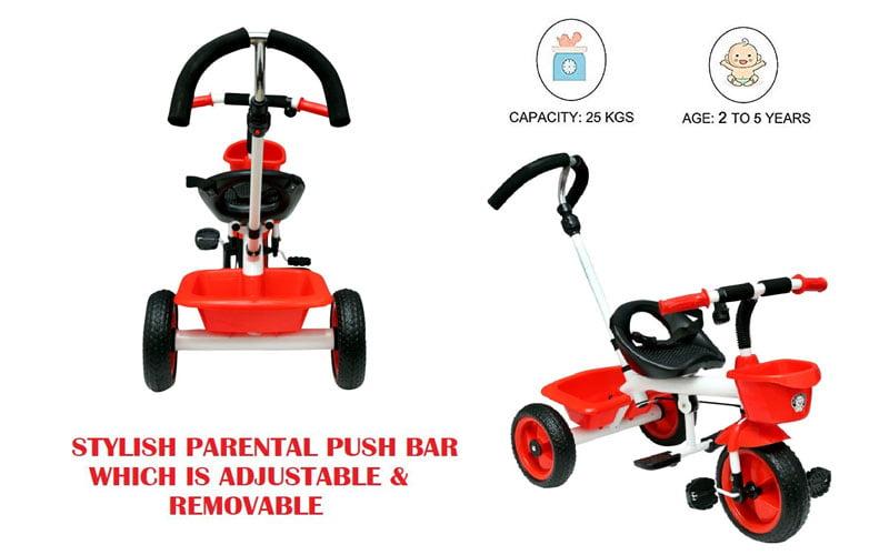Buy Affordable JoyRide Metal Tricycle India