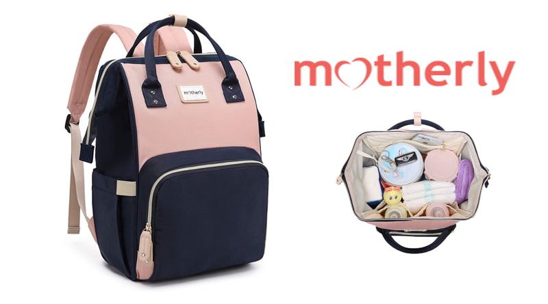 Motherly Premium Baby Diaper Bags for Mothers, Best Diaper Bags for Moms