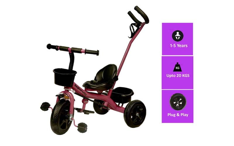 Good Luck BayBee 2 in 1 Convertible Baby Tricycle