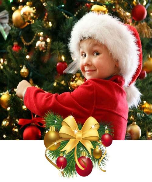 Artificial Pine Snow Christmas Tree