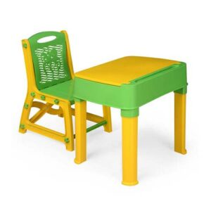 Nilkamal-Apple-Juniors-Study-Desk-Yellow-Green