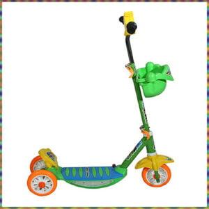 JoyRide Three Wheel Kick Scooter for Kids