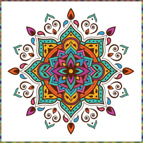 Make Floor Rangolis, Holi Decoration Ideas for School 2021