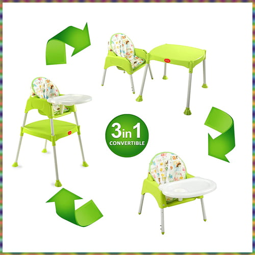 LuvLap 3 in 1 Convertible High Chair India