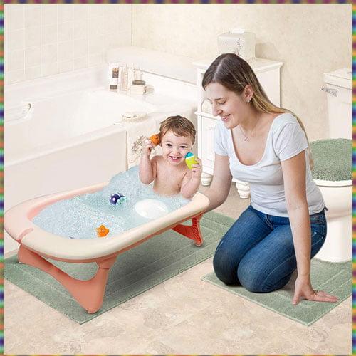 Luvlap Aqua Folding Baby Bath, baby bath tub newborn online