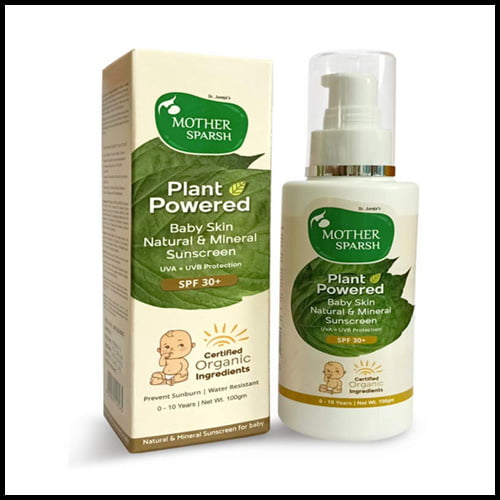 Mother Sparsh sunscreen lotion