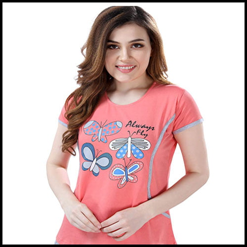 AV2 Women's Cotton Maternity Feeding Suit, Best Feeding Night Suits India