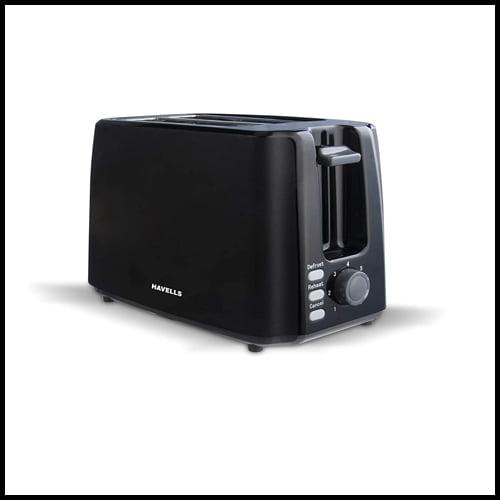 Havells Crisp Plus Pop-Up Toaster in Color Black, best pop up toaster review