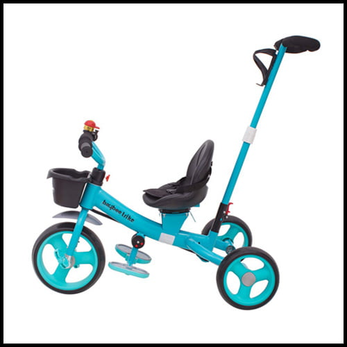 buy best tricycle for 2 year old India, Baybee Breeze 2 in 1 Kids Tricycle
