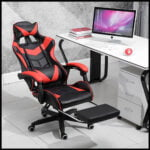Heerrav Retail Gaming Chair with Footrest