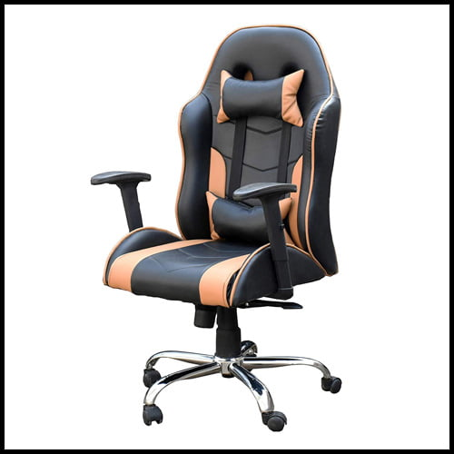SamDecors PC Gaming Chair with Chrome Finish , Best PC chair for gamers India