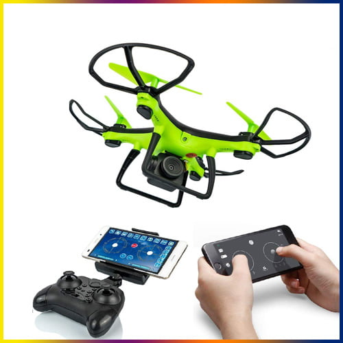 best drone with camera in india, Amitasha 360p Camera Drone with Extra Blades